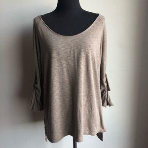 Ellen Tracy sz S cute ¾ sleeve blouse